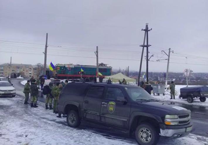 Blokada Donbass 2